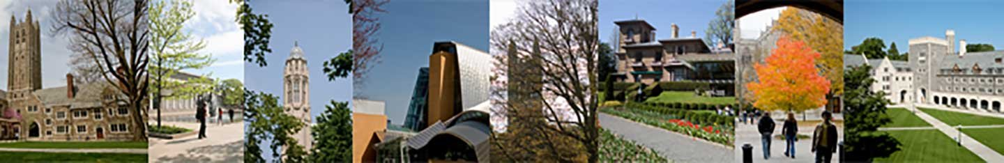 collage of Princeton University buildings